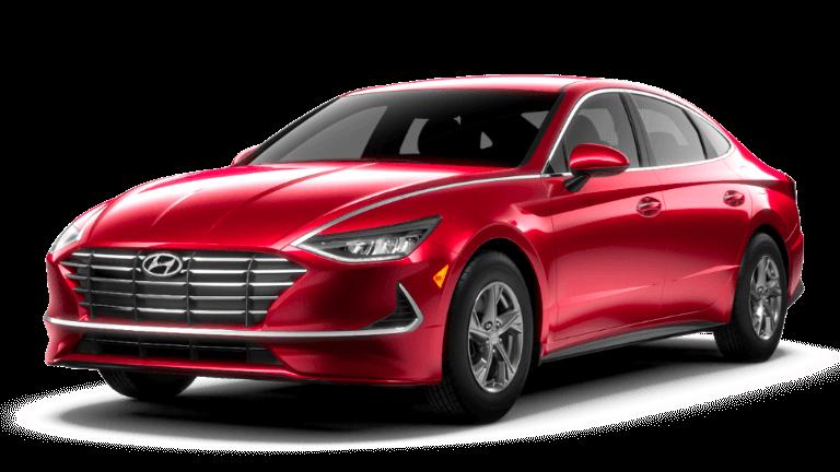 201 Hyundai Sonata SE - Calypso Red