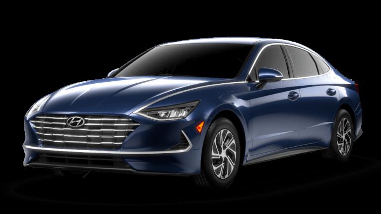 2021 Hyundai Sonata Hybrid Blue - Oxford Blue