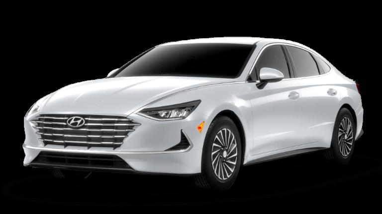 2021 Hyundai Sonata Hybrid SEL - Hyper White