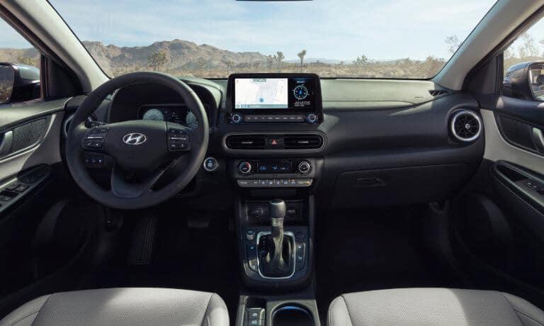 2022 Hyundai Kona interior front