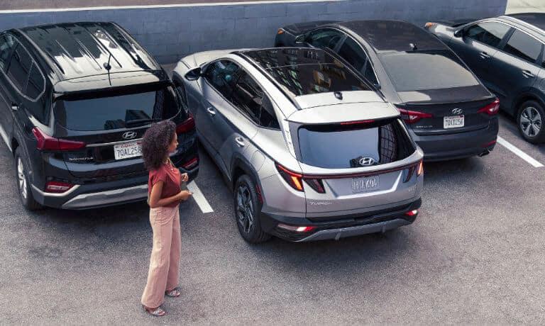2022 Hyundai Tucson exterior smart parking assist