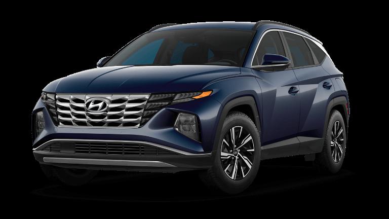 2022 Hyundai Tucson Hybrid Blue - Deep Sea