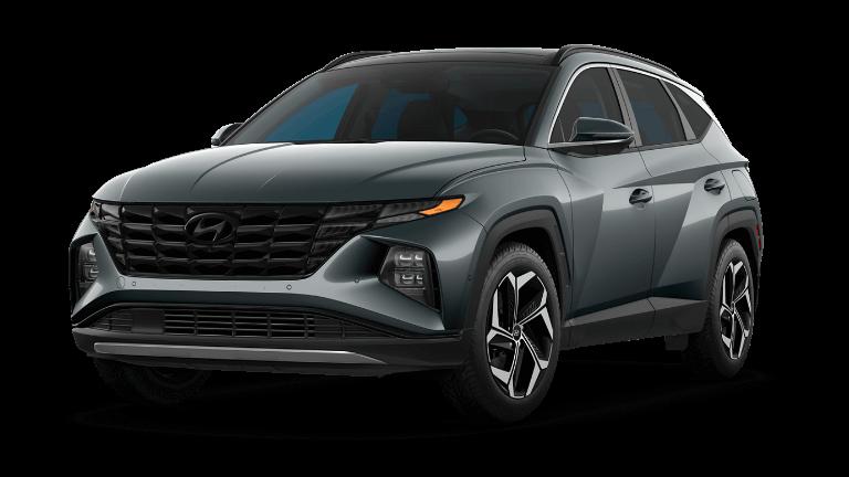 2022 Hyundai Tucson Limited - Amazon Gray