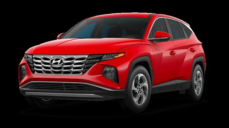 2022 Hyundai Tucson SE - Calypso Red