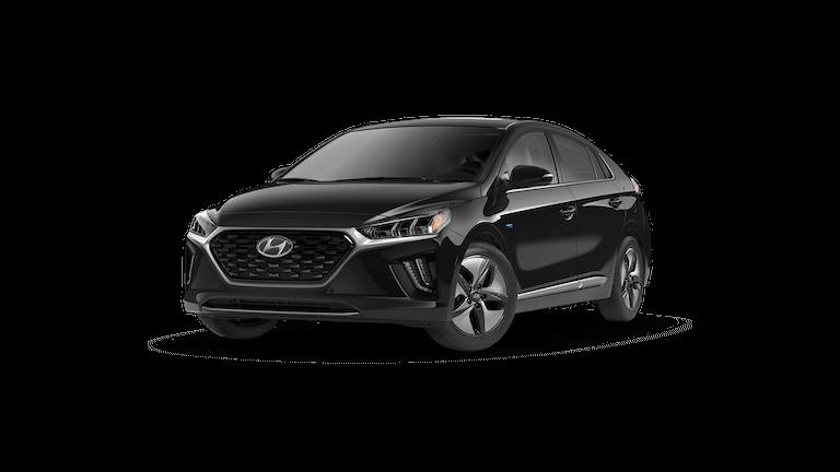 A grey 2020 Hyundai IONIQ
