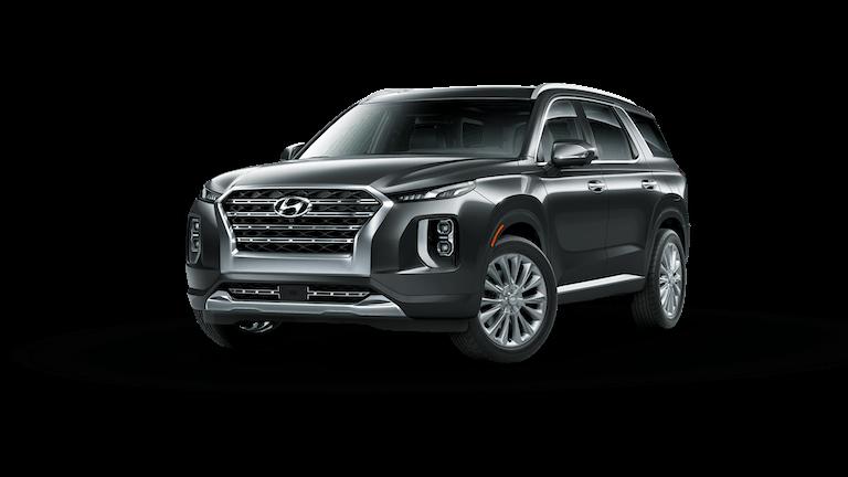 A black 2020 Hyundai Palisade