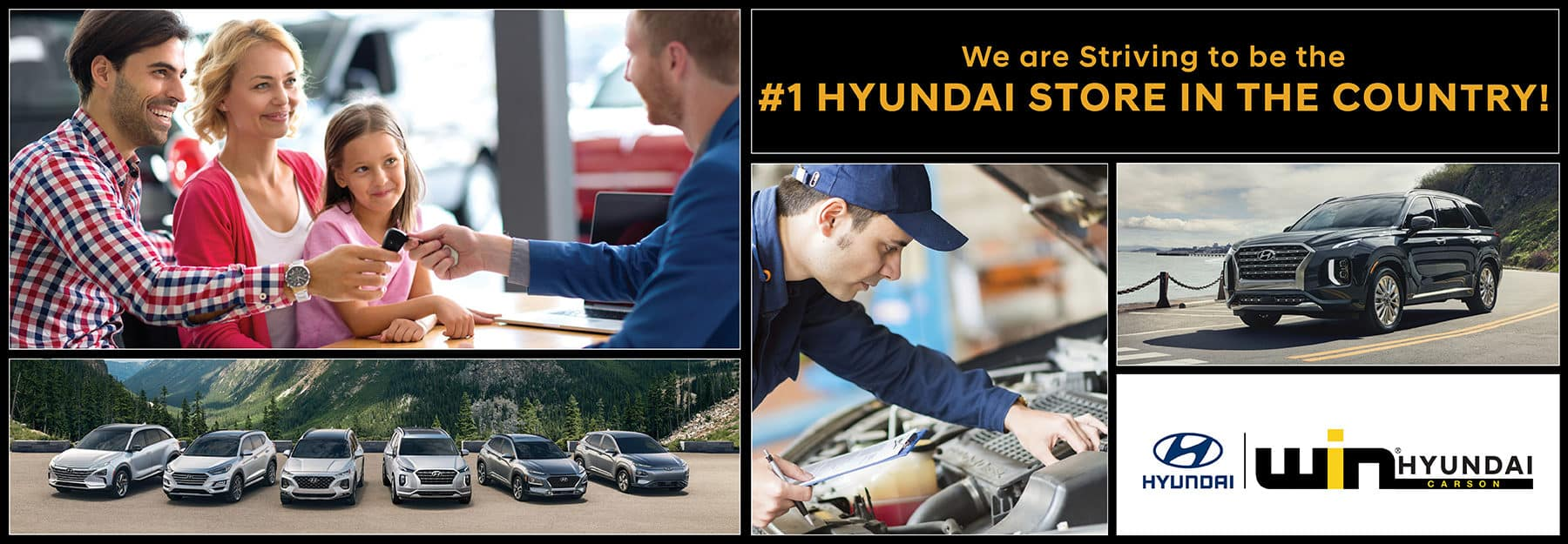 WIN Hyundai: Striving #1 Hyundai Store in the Country