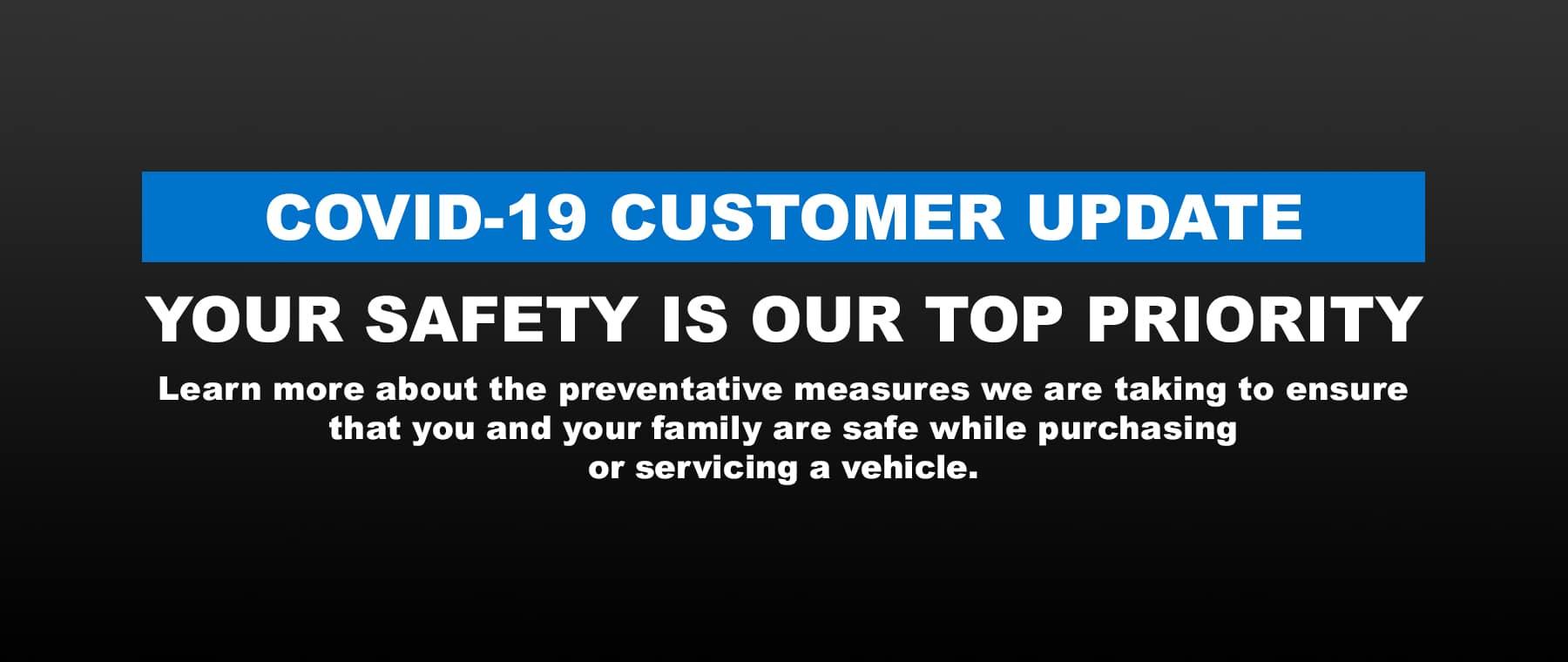 Hyundai COVID-19 Safety Measures