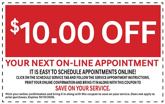 $10 Off Your next Online Appointment! | Carson, CA