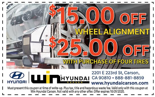 Tire and Wheel Alignment Special! | Carson, CA