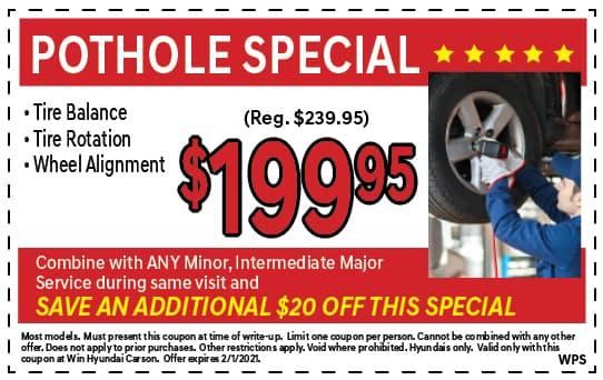Pothole Special | Win Hyundai Carson