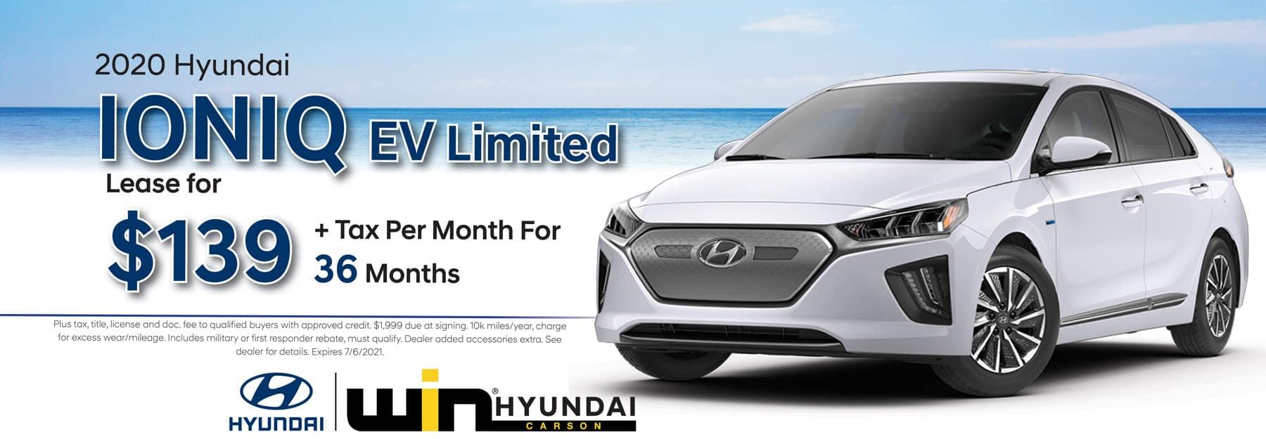2020 Hyundai Elantra SE Lease   Carson, CA