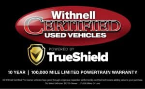 Withnell Certified Used Vehicles