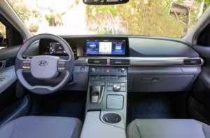 2020 Hyundai Nexo interior